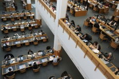 The British Library contains more than 150 million items in its collection, including manuscripts, maps, newspapers and drawings. Photo: AFP / Carl Court