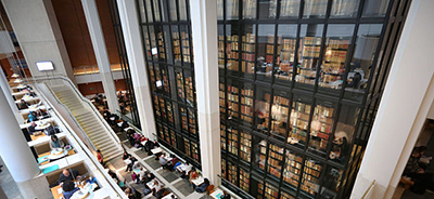 Interior of the British Library