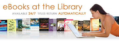 Louisville (Ky.) Free Library's ebook banner