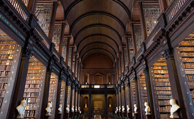 Trinity College, Dublin. Photo: Shutterstock.com