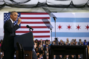 President Obama. Photo: Anthony Souffle/Chicago Tribune