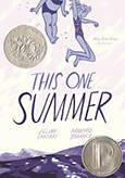 Cover of This One Summer, by Mariko Tamaki