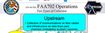 Definition of NSA's upstream data collection
