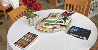 Library book tasting program