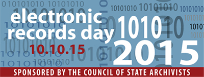 Electronic Records Day, October 10