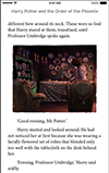 Harry Potter enhanced ebook