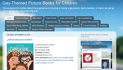 Gay-Themed Picture Books for Children website