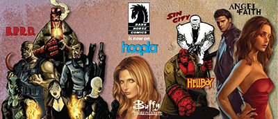 Dark Horse titles on hoopla
