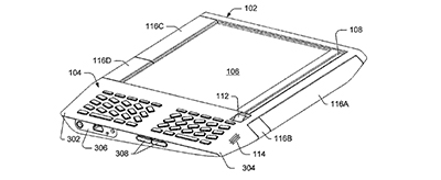 Patent filed June 2006 for the Kindle
