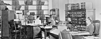 The Library of Congress opened its reading room for the blind in 1897