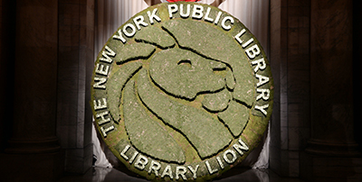 NYPL's Library Lions medal