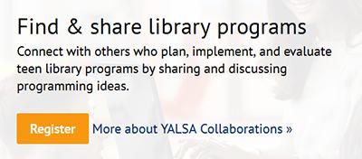 YALSA Teen Programming HQ website