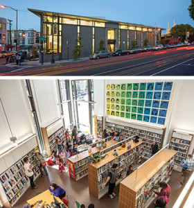 San Francisco's new North Beach branch library