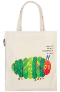 Out of Print Hungry Caterpillar tote bag