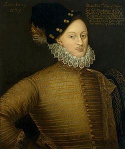 Edward de Vere, 17th Earl of Oxford.