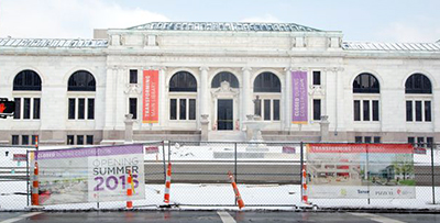 Columbus (Ohio) Metropolitan Library closed for renovation