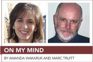Amanda Wakaruk and Marc Truitt