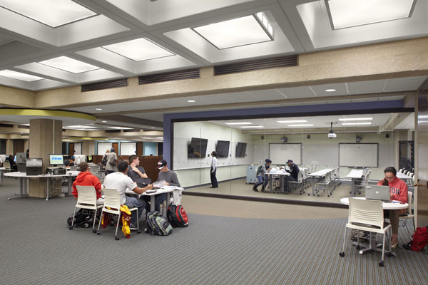 University of Akron, Ohio, Bierce Library