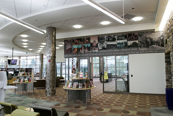 Howard County (Md.) Library System, Charles E. Miller Branch and Historical Center