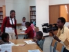A regular library user encouraged his mother, a reporter for Ethiopian TV to cover the library.