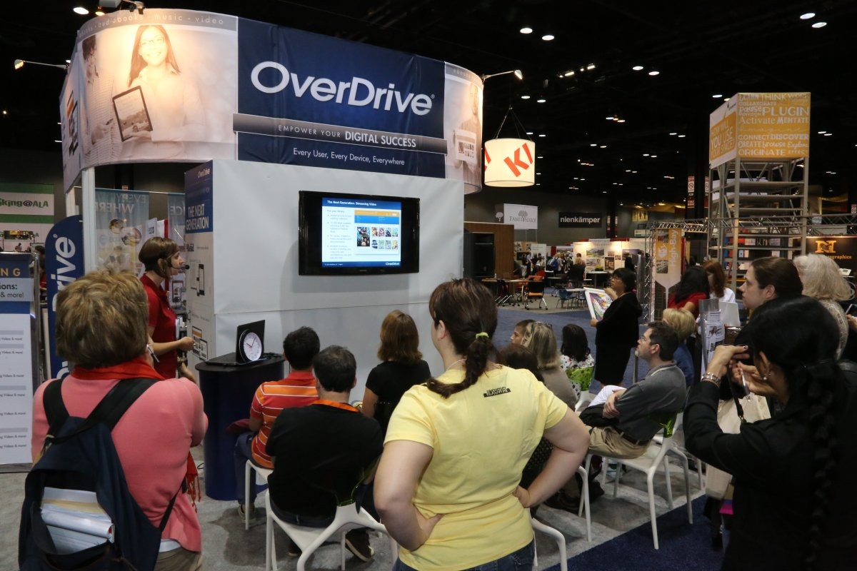 Overdrive at 2013 Exhibit Hall