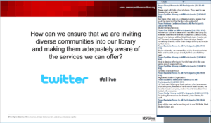 "Screenshot from ""Diversity in Libraries"""