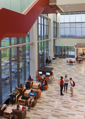Dixie State University, St. George, Utah—Jeffrey R. Holland Centennial Commons