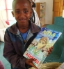 Kids who attended the opening all received their own copy of Tirhas Celebrates Ashenda, written by Yohannes Gebregeorgis.