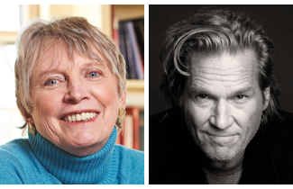Lois Lowry (left) and Jeff Bridges (right) headline the 2014 ALA President's Program in Las Vegas