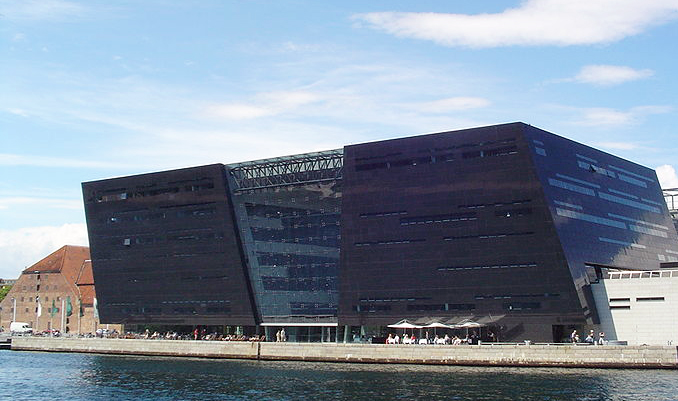 The Royal Danish Library's Black Diamond building.