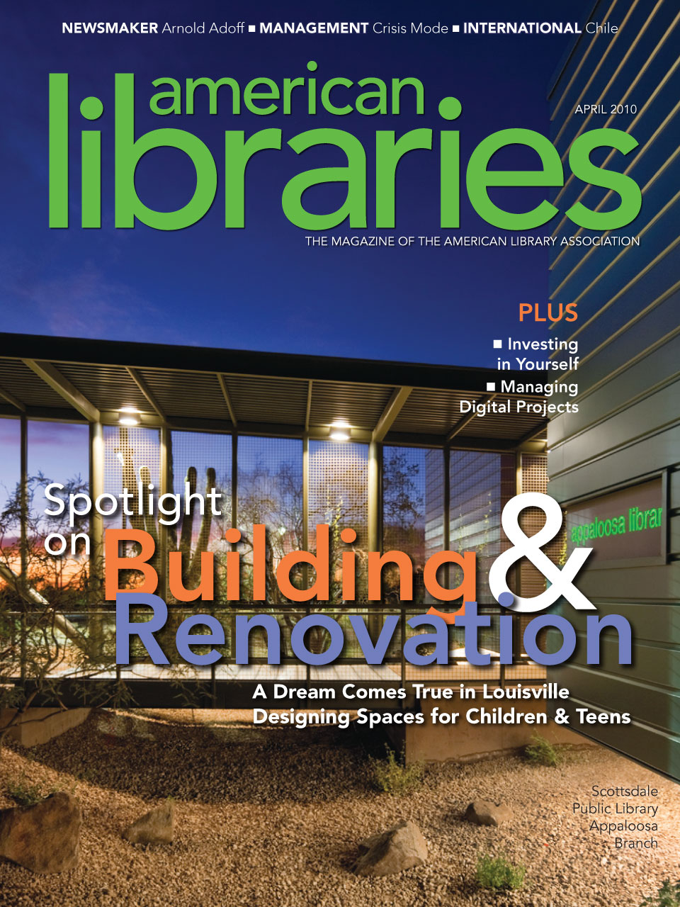 Magazine Archive | Page 8 of 10 | American Libraries Magazine
