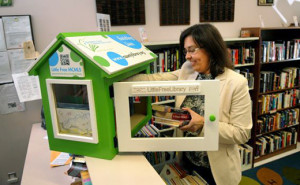 Montgomery County loans out Little Free Libraries to patrons