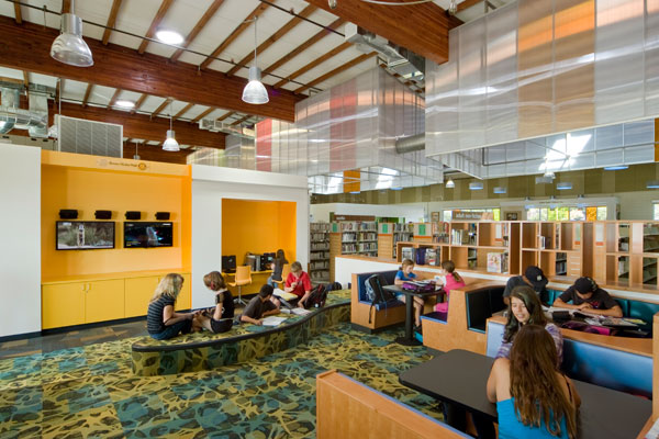 Gum Spring Library Study Room