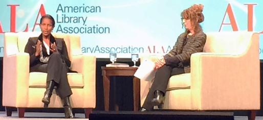 Ayaan Hirsi Ali and Donna Seaman