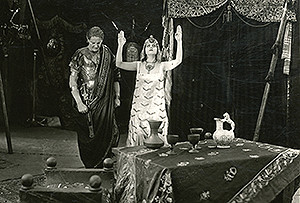 Theda Bara in Cleopatra