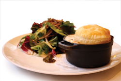 Duck confit pot pie at Atwood; photo: Michelle Banovic