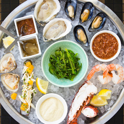 Seafood platter at GT Fish and Oyster; photo: GT Fish and Oyster