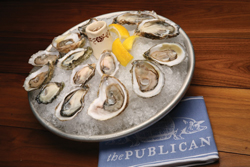 Oysters at The Publican; photo: Marc Hauser