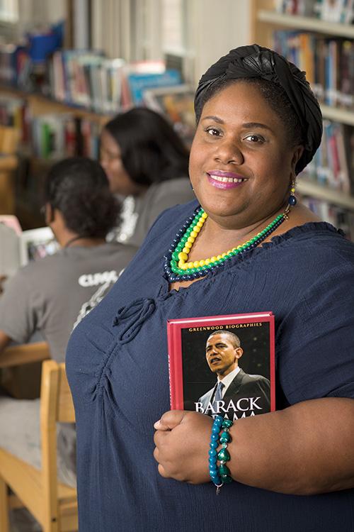 K.C. Boyd Library Media Specialist