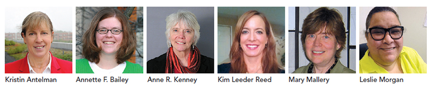 Several female academic professionals interviewed for the feature.