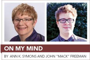 "By Ann K. Symons and John ""Mack"" Freeman"