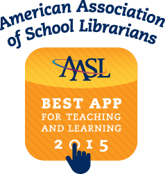 AASL Best App for Teaching and Learning Logo