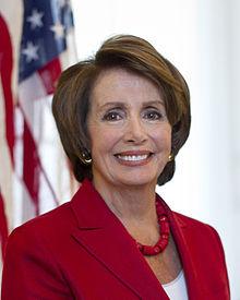 US Rep. Nancy Pelosi
