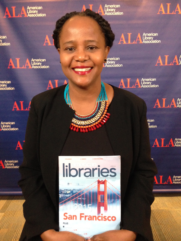 National Book Award finalist Edwidge Danticat at #alaac15