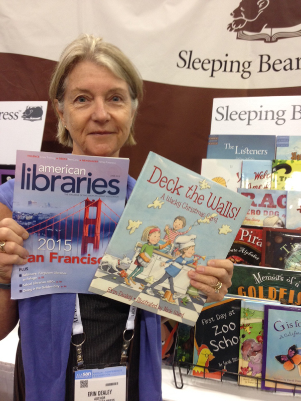 Author Erin Dealey at #alaac15
