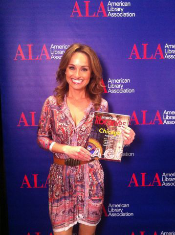 Chef, writer, and Food Network star Giada De Laurentiis at #alaac13 in Chicago.