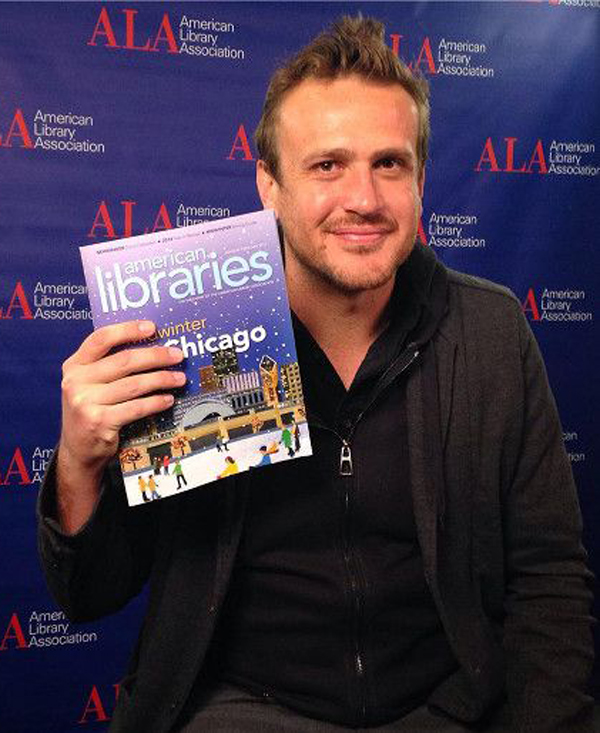 Actor and author of Nightmares! Jason Segel at #alamw15.