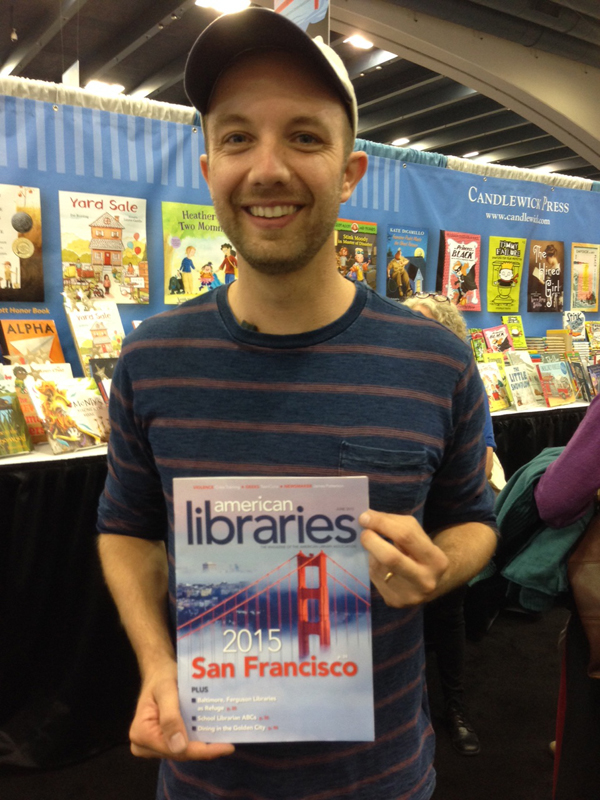 Caldecott-winning author-illustrator Jon Klassen at #alaac15