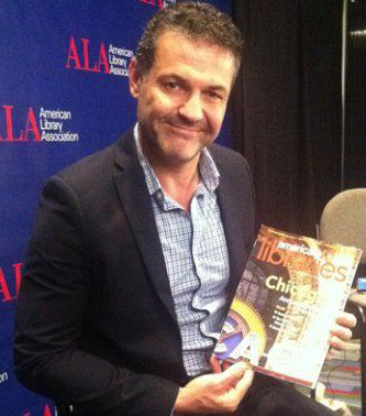Khaled Hosseini, author of The Kite Runner, at #alaac13 in Chicago.