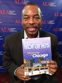 Actor, director, and host of Reading Rainbow LeVar Burton at #alamw15